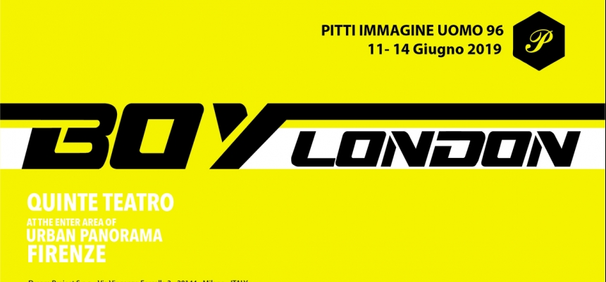 BOY LONDON - PITTI IMMAGINE 96